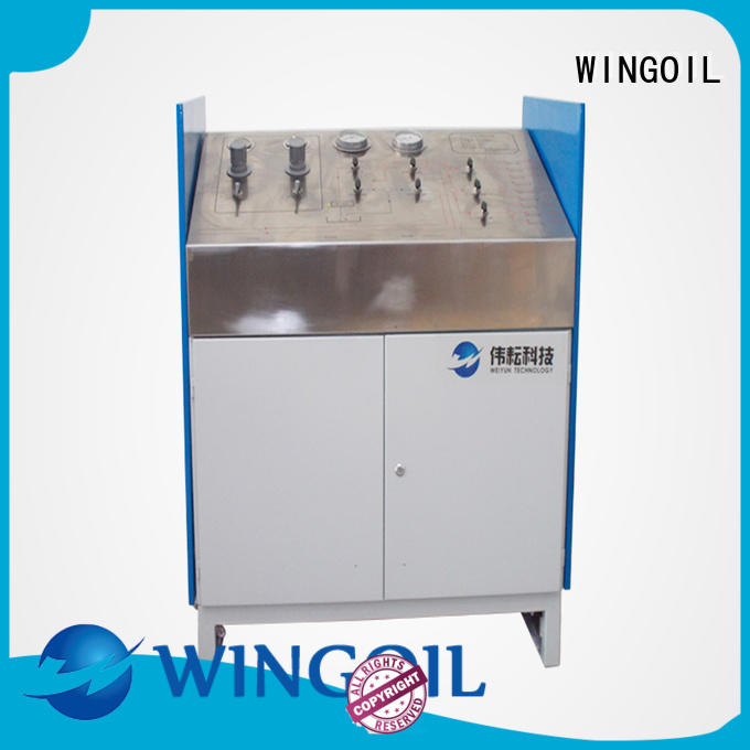 Wingoil Top hydraulic testing equipment suppliers Supply for offshore