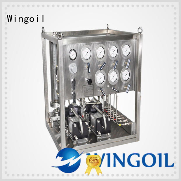 Wingoil Top system chemical infinitely For Gas Industry