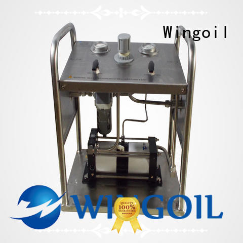 professional hydrostatic water test pump widely used For Oil Industry