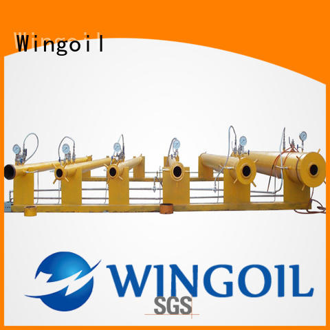 Wingoil hydrostatic testing equipment manufacturers infinitely for offshore