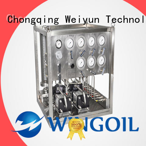 Wingoil Chemical Injection System infinitely for onshore
