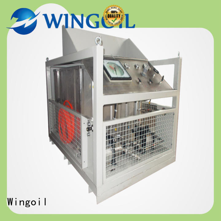 Wingoil used hydrostatic test pump With unrivaled expertise for offshore
