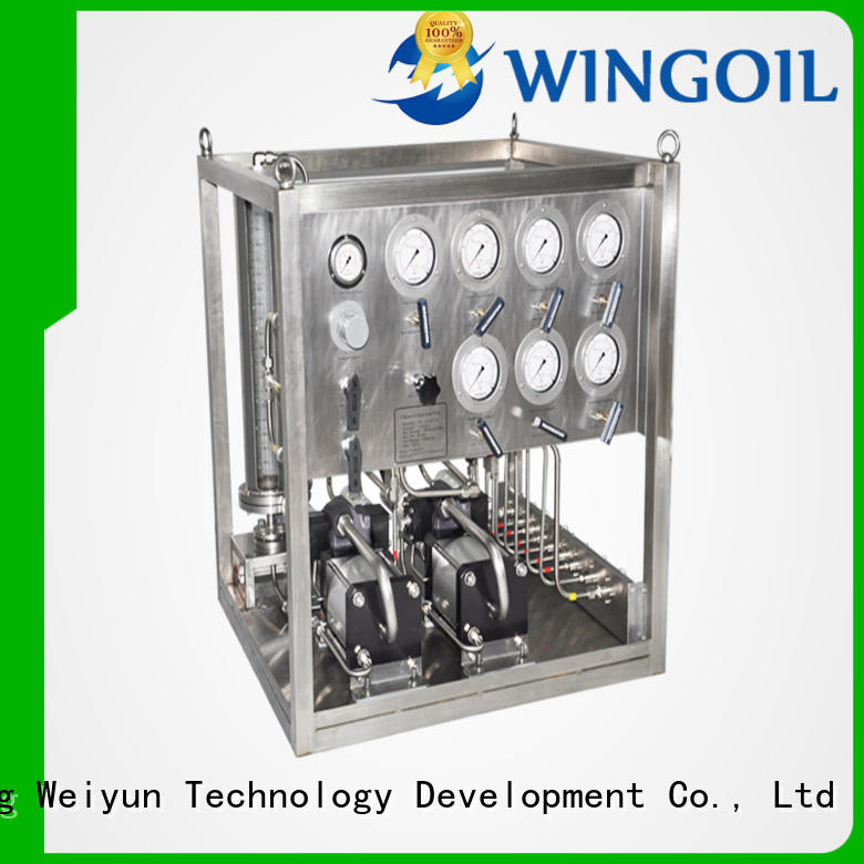 Wingoil Safety corrosion inhibitor injection system For Oil Industry