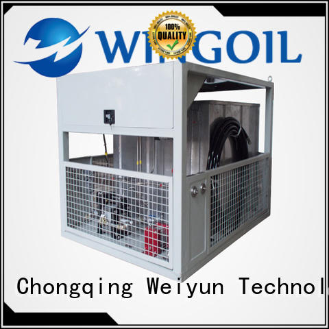 Wingoil pneumatic test procedure widely used For Gas Industry