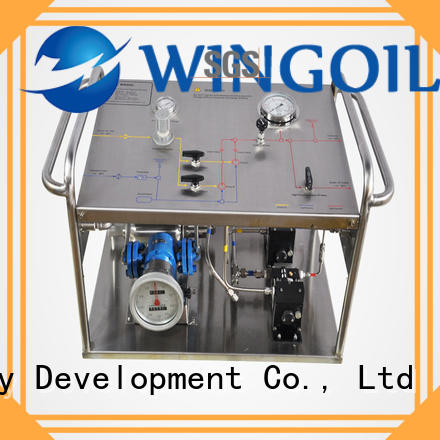 hydrostatic hydrostatic water test pump infinitely for offshore