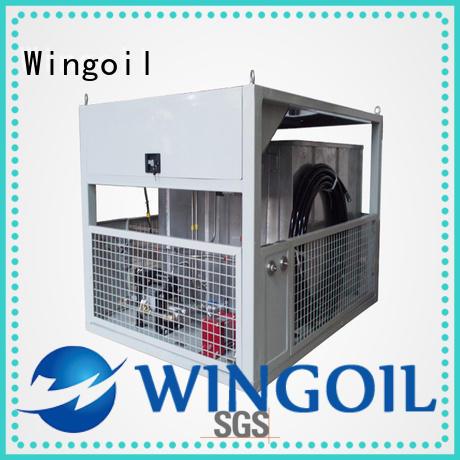 Wingoil high pressure pipeline pressure testing equipment in high-pressure For Gas Industry