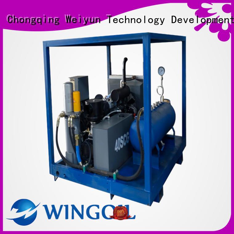 hose pressure testing equipment for onshore