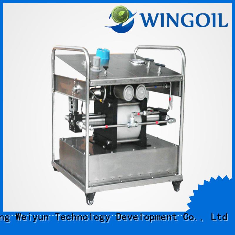 Wingoil chemical vapor factory for onshore