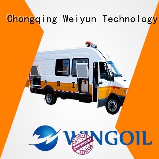 Wingoil Oilfield Pressure Trucks With unrivaled expertise for onshore