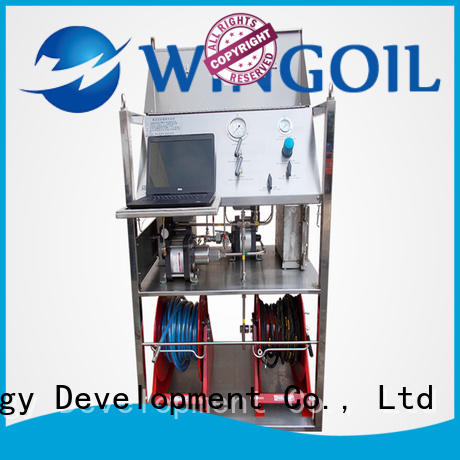 Hydro duct pressure testing equipment widely used for onshore
