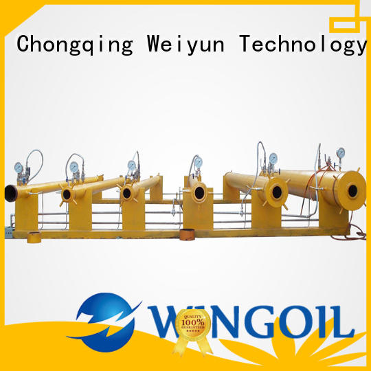 Wingoil hydro test procedure standard in high-pressure For Gas Industry