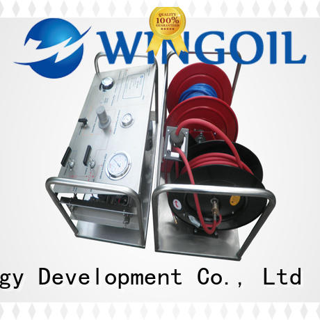 Wingoil hydrotest hand pump for business For Gas Industry