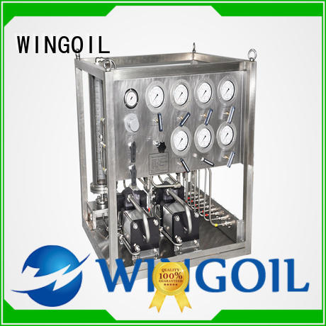 corrosion inhibitor injection system infinitely for offshore