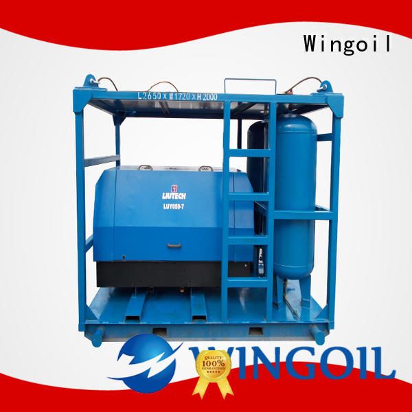 Wingoil pipeline pressure testing equipment Supply For Oil Industry