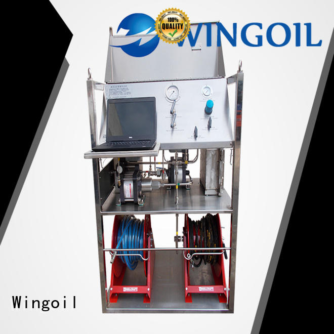 Wingoil water pressure test kit factory for onshore