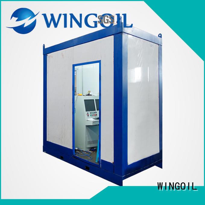 Wingoil high pressure hose testing equipment infinitely for offshore