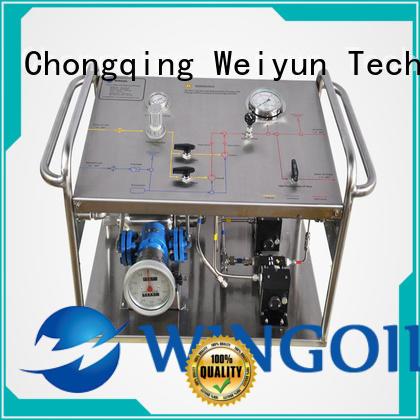 hydrostatic pressure pump in high-pressure for onshore