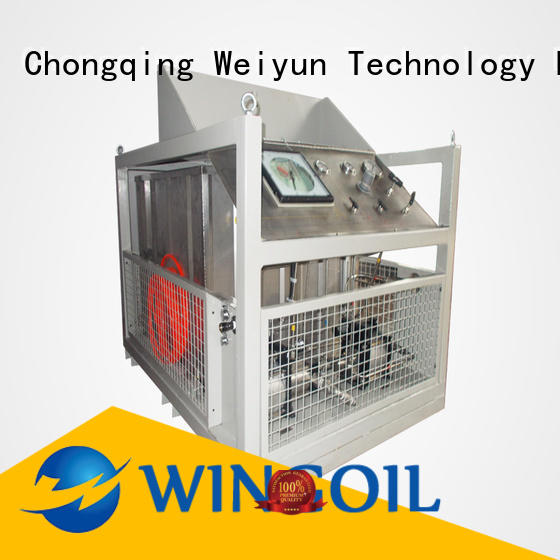 Wingoil air leak testing equipment Supply for onshore