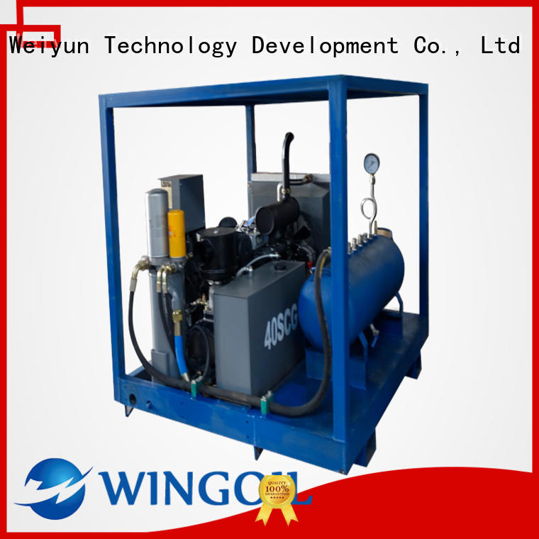 Wingoil popular pipeline pressure testing equipment With unrivaled expertise For Oil Industry