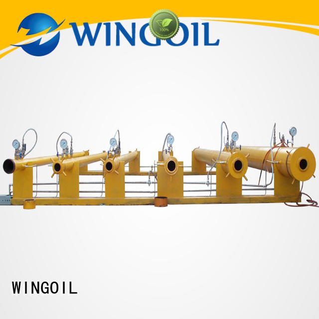 Wingoil Safety hydrotest procedure for piping infinitely for offshore