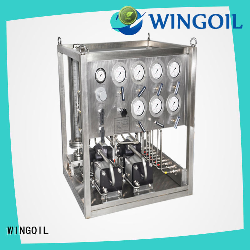 Wingoil electric pumps for chemicals for business for onshore