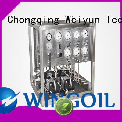 Wingoil professional corrosion inhibitor injection system for offshore