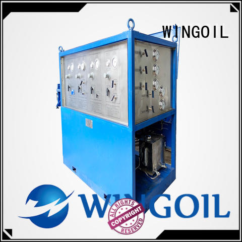 pipe pressure testing equipment infinitely for onshore