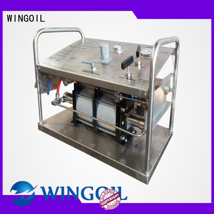 Wingoil Wholesale hydrotest hand pump widely used for onshore