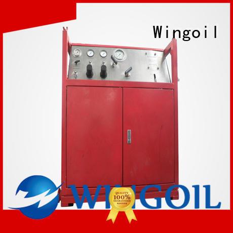 Wingoil popular gas pressure test infinitely for onshore