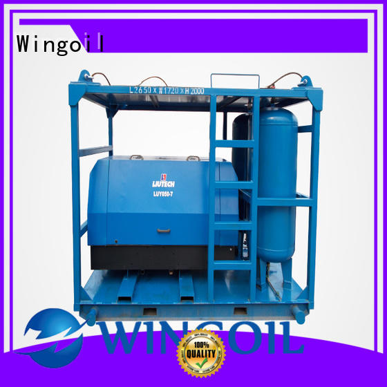 Wingoil tube pressure testing equipment in high-pressure For Oil Industry