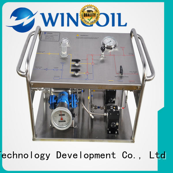 hydrostatic test pump With unrivaled expertise For Oil Industry