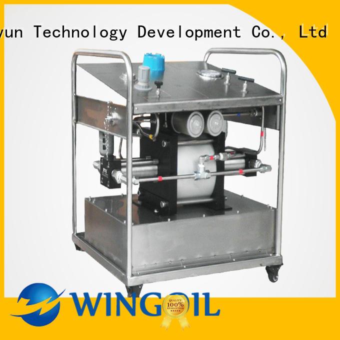 Wingoil underfloor heating pressure test pump manufacturers For Gas Industry
