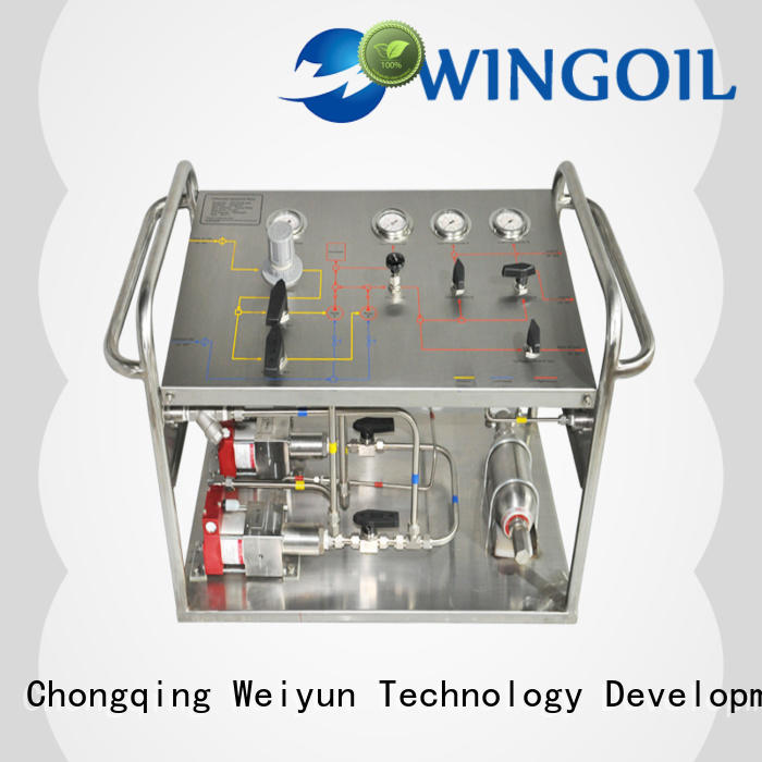 Wingoil high pressure corrosion inhibitor injection system For Oil Industry