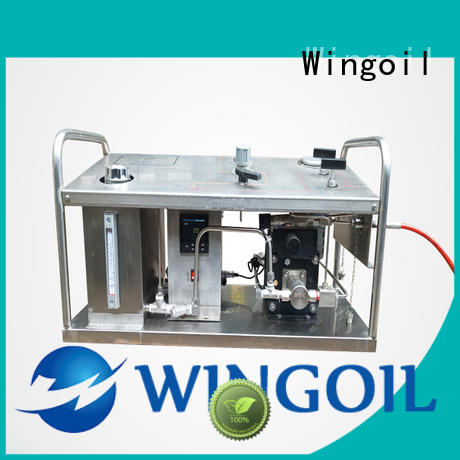 Wingoil electric test pump widely used for onshore