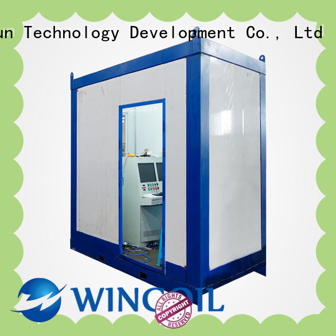 Wingoil high pressure hose testing equipment infinitely For Gas Industry