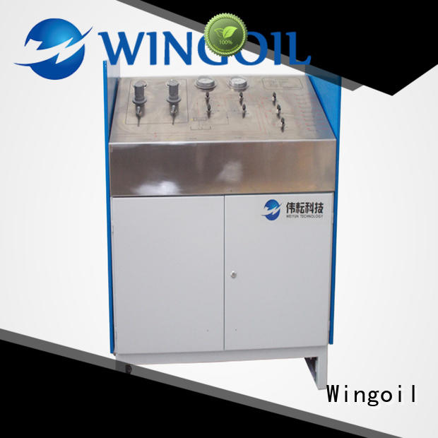 Wingoil high pressure high pressure hose testing equipment widely used for offshore