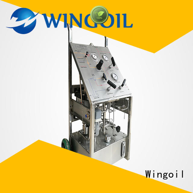Wingoil hydrostatic pump Supply for onshore