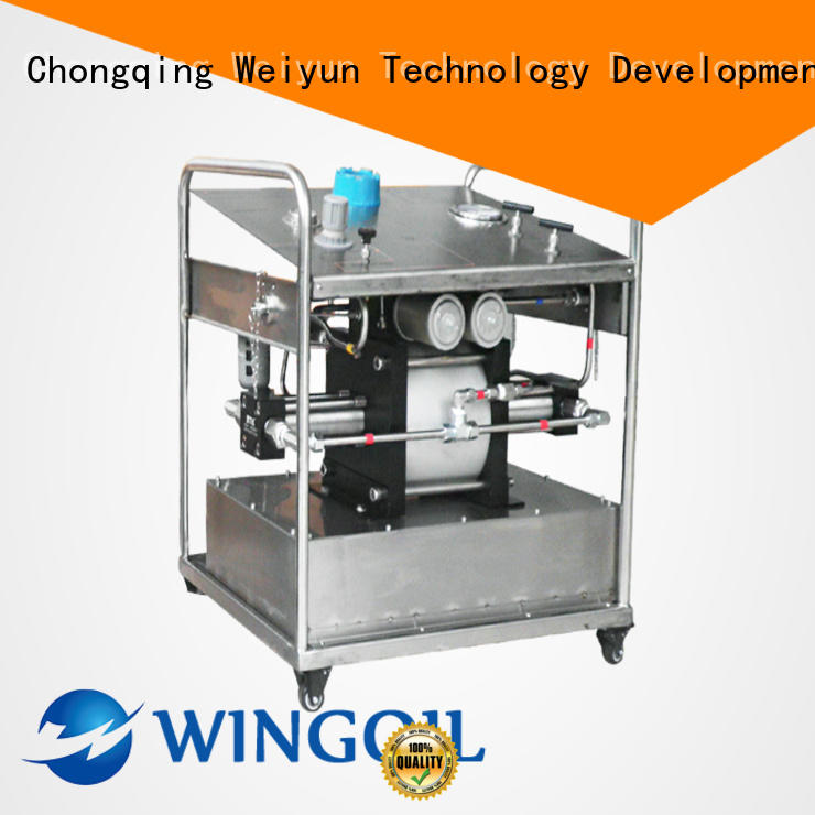 Wingoil chemical corrosion inhibitor injection system With unrivaled expertise For Oil Industry