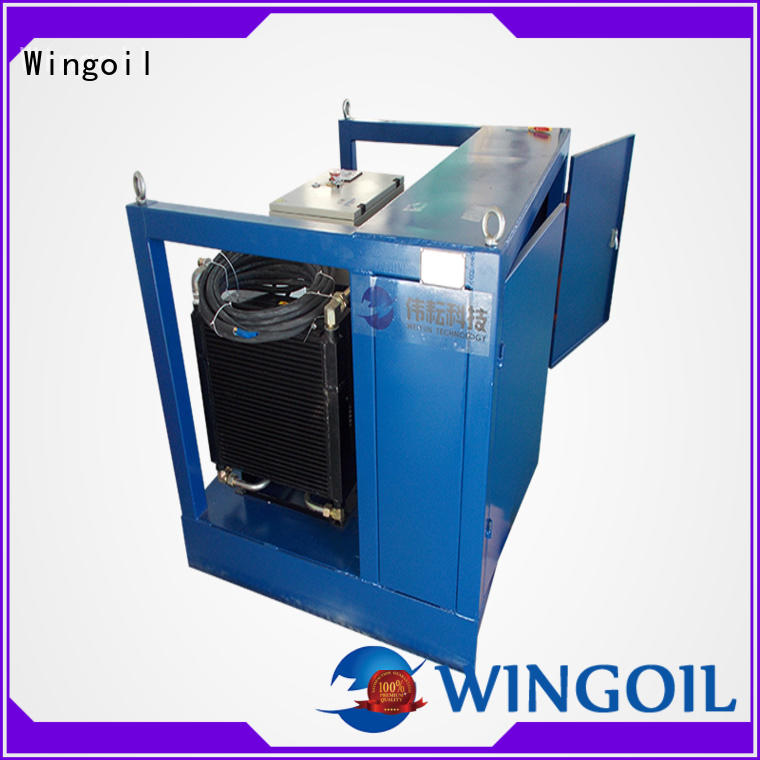 Wingoil popular pipe pressure testing equipment in high-pressure For Gas Industry