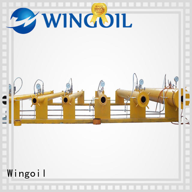 Wingoil Wholesale hydrostatic testing services in high-pressure for offshore