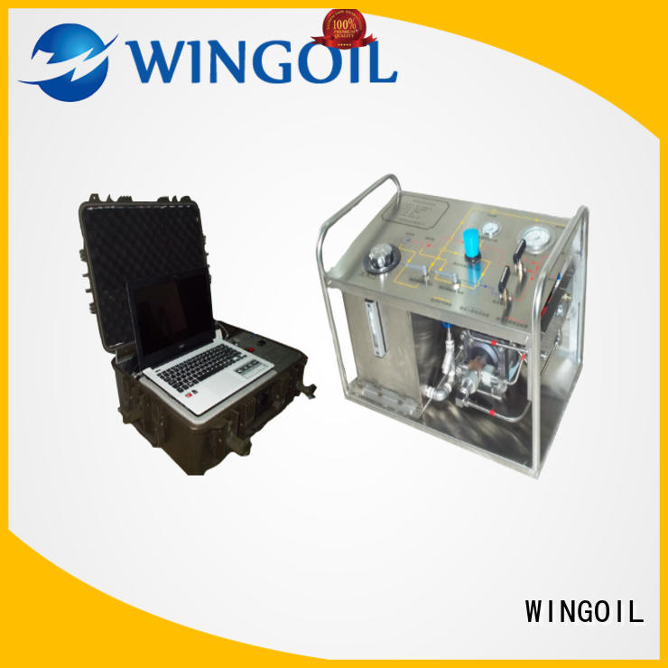 Wingoil popular hydrostatic test pump in high-pressure For Gas Industry