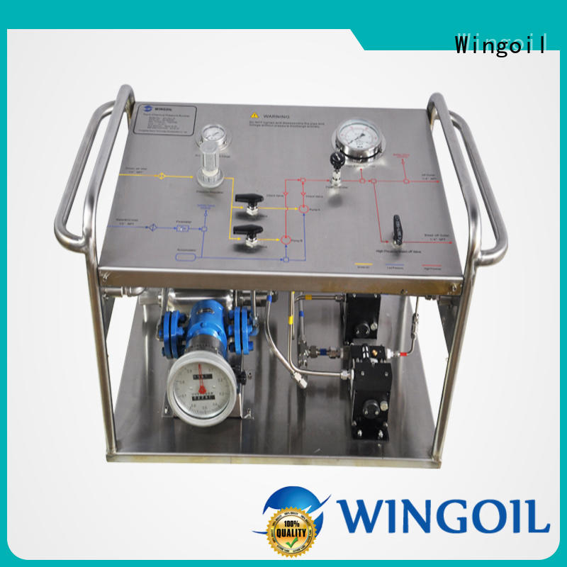 professional hydrostatic pressure test pump infinitely for offshore