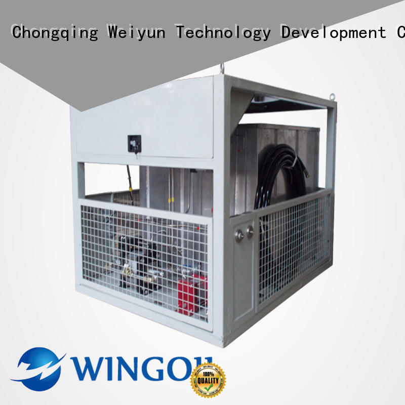 Wingoil hose pressure testing equipment With Flow Meter For Gas Industry