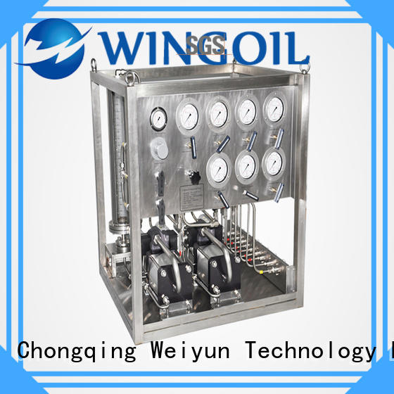 Wingoil popular Chemical Injection System in high-pressure for onshore