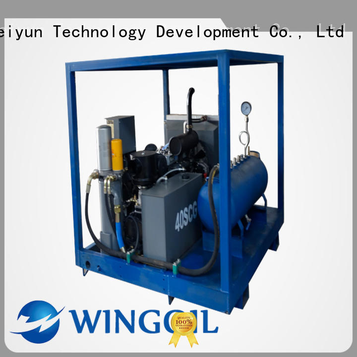 water line pressure testing equipment With Flow Meter For Gas Industry