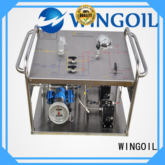 Wingoil Safety wheeler rex test pump manufacturers For Gas Industry