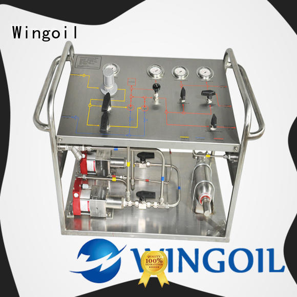 Wingoil high pressure hydrostatic test pump Suppliers for onshore