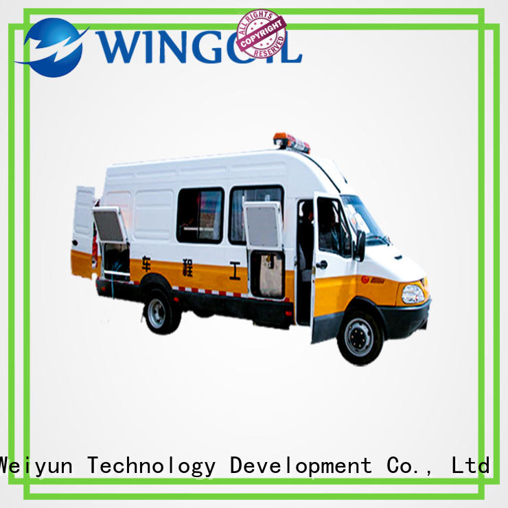 Wingoil pressure testing truck infinitely For Oil Industry