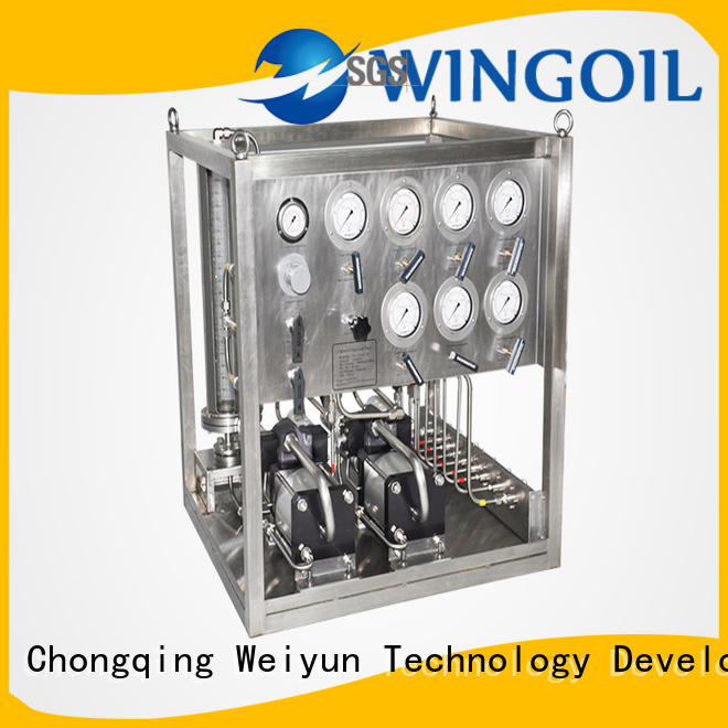High-quality chemical injection pump widely used For Gas Industry