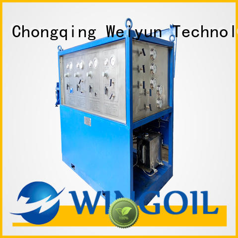 Wingoil pressure testing pipework regulations widely used For Oil Industry